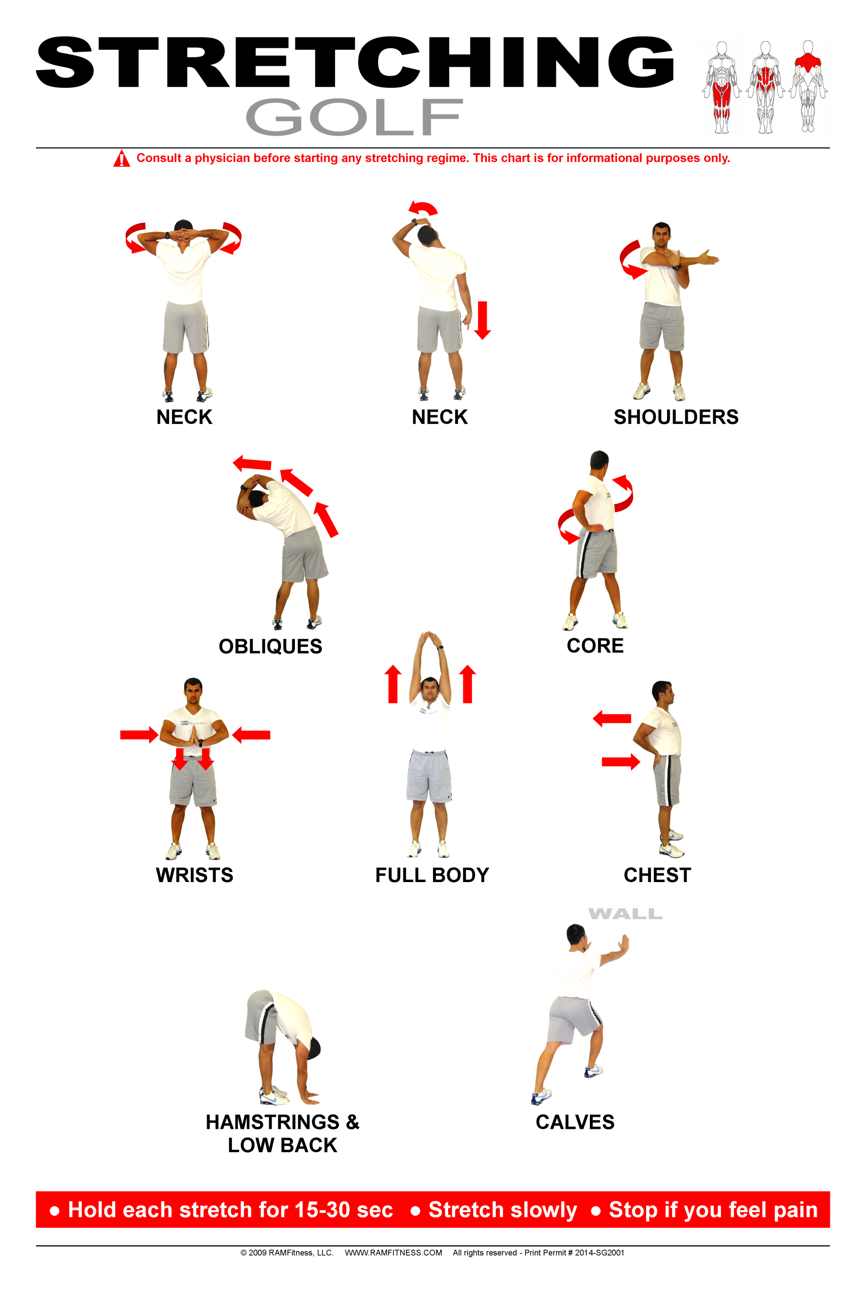 stretching exercises with pictures and instructions pdf
