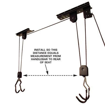 gambrel and pulley hoist instructions