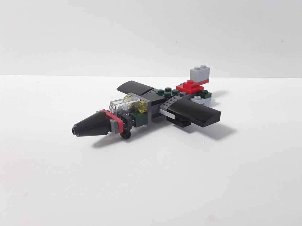 small lego plane instructions