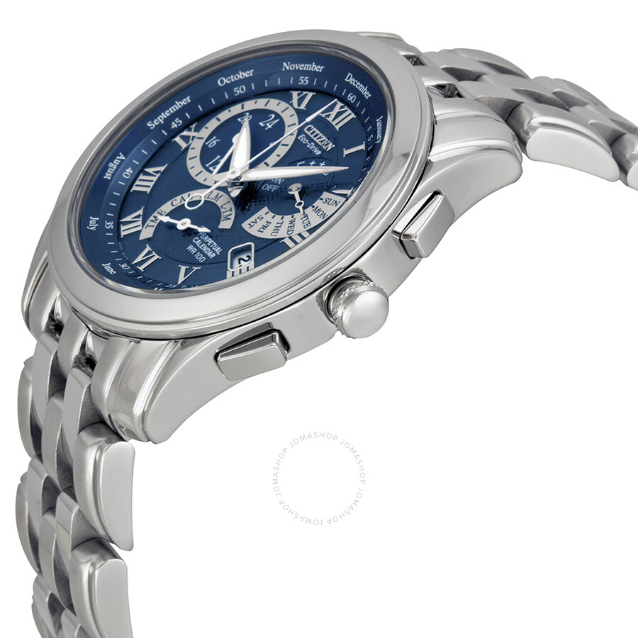 citizen eco drive perpetual calendar instructions