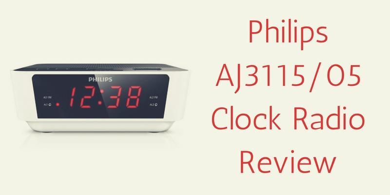 philips clock radio aj3115 instructions