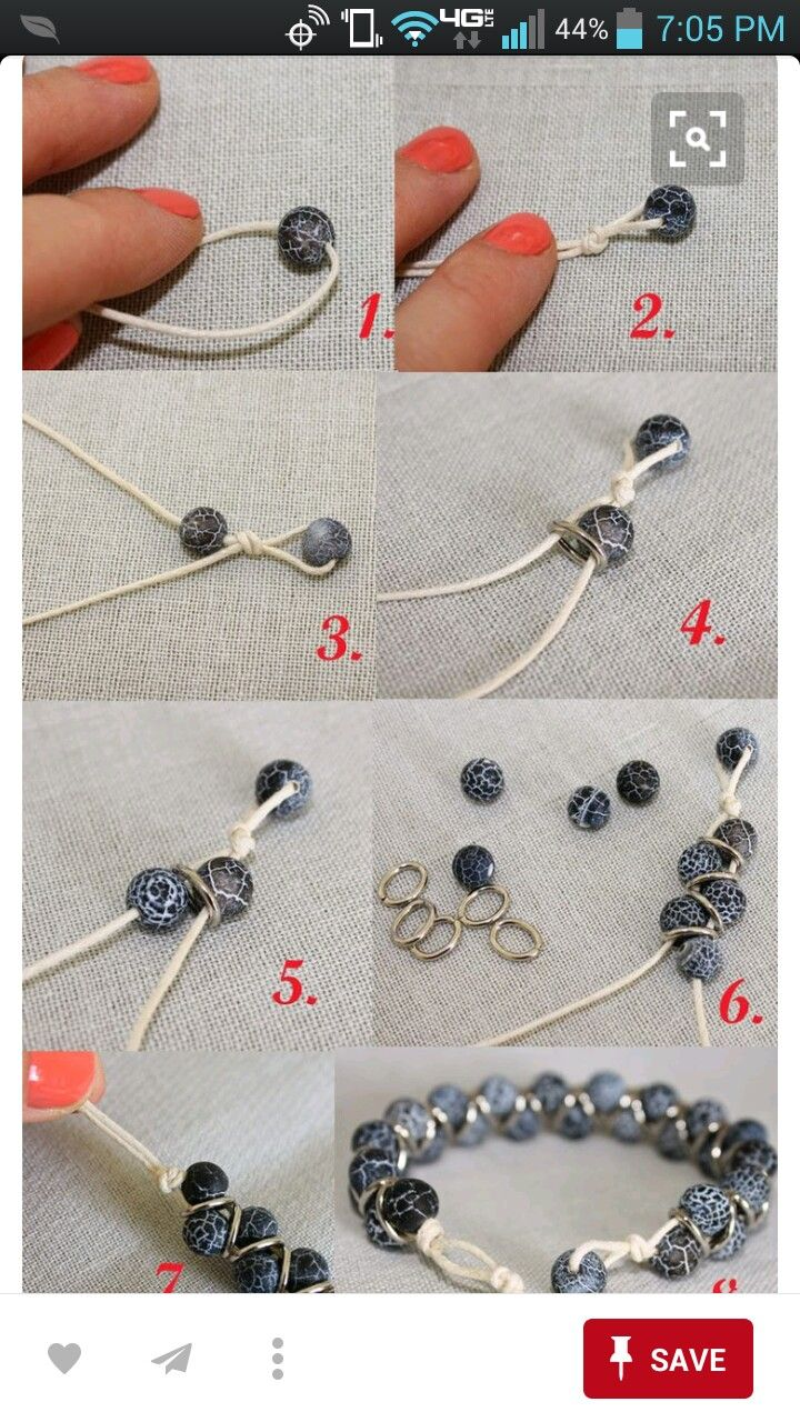 jewelry slip knot instructions