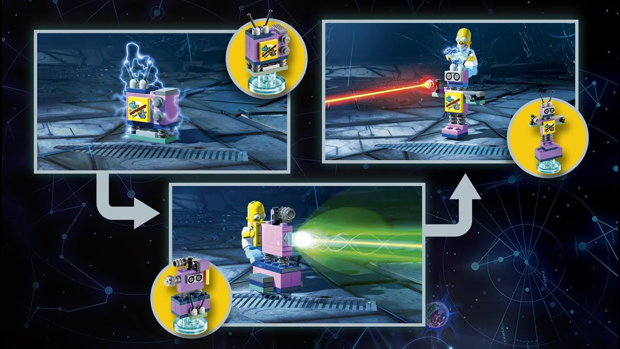 lego dimensions taunt o vision instructions