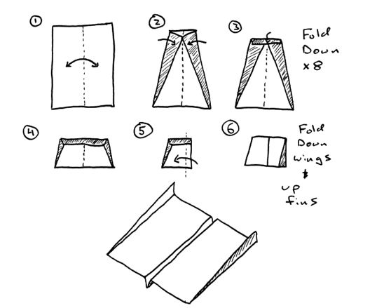 far flying paper airplane instructions
