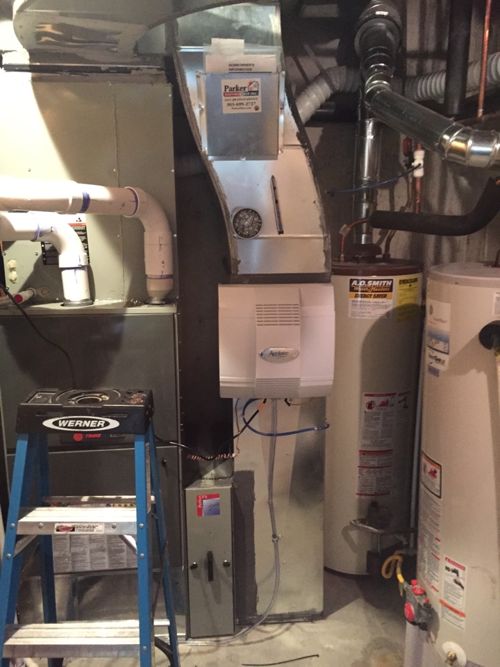 trane furnace installation instructions