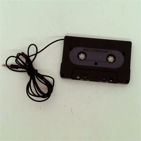 scosche cassette adapter instructions