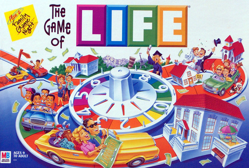 game of life board game instructions
