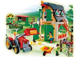 playmobil mega farm set 4055 instructions