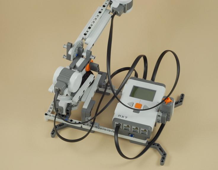 lego robot arm instructions