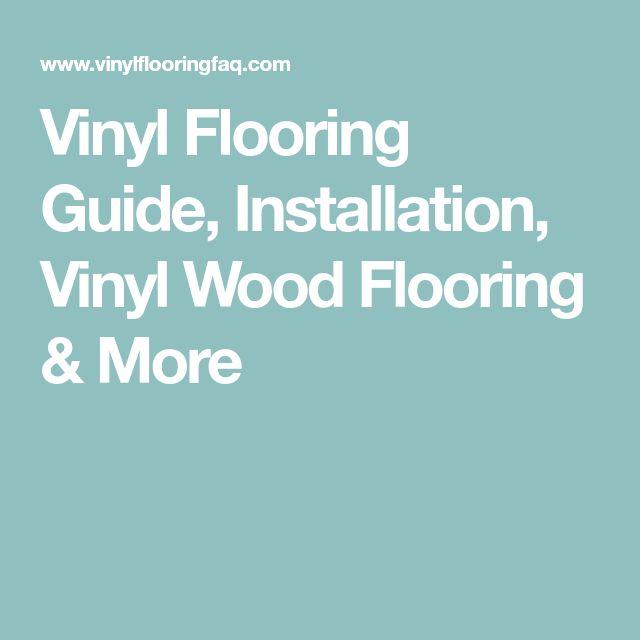 natco vinyl flooring installation instructions