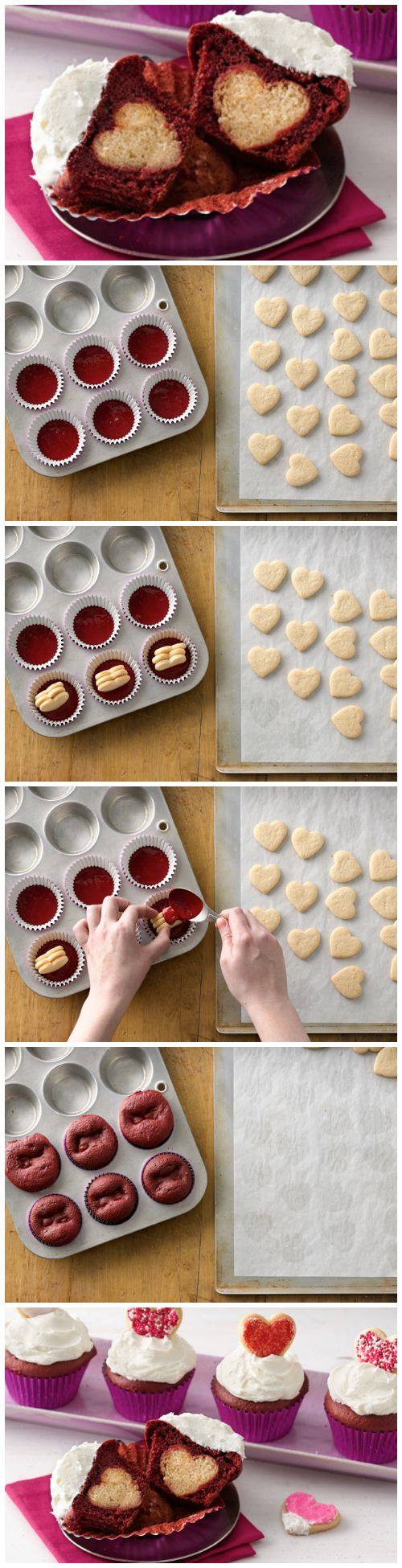 big top cupcake instructions