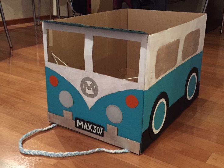 cardboard box car instructions