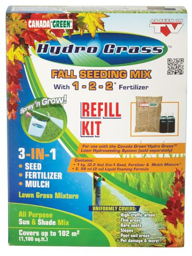 canada green hydro grass instructions