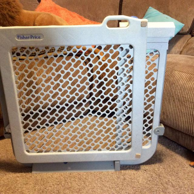 fisher price baby gate instructions