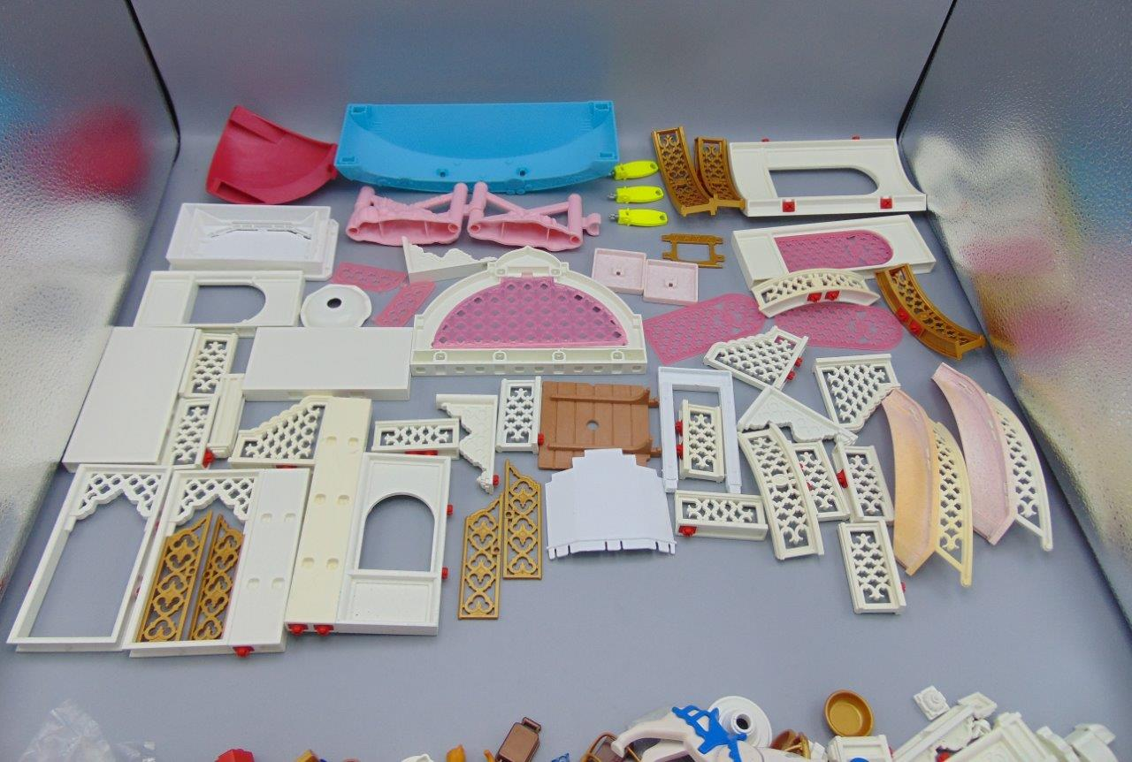 playmobil princess fantasy castle instructions