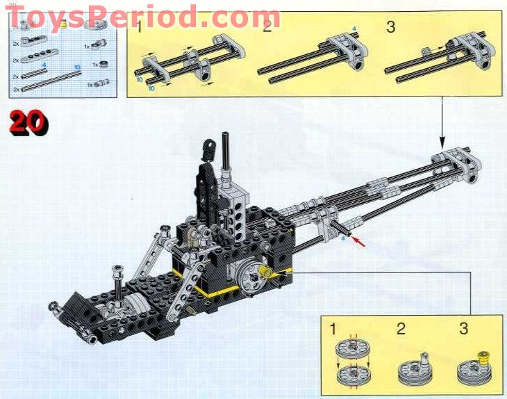 lego technic helicopter instructions