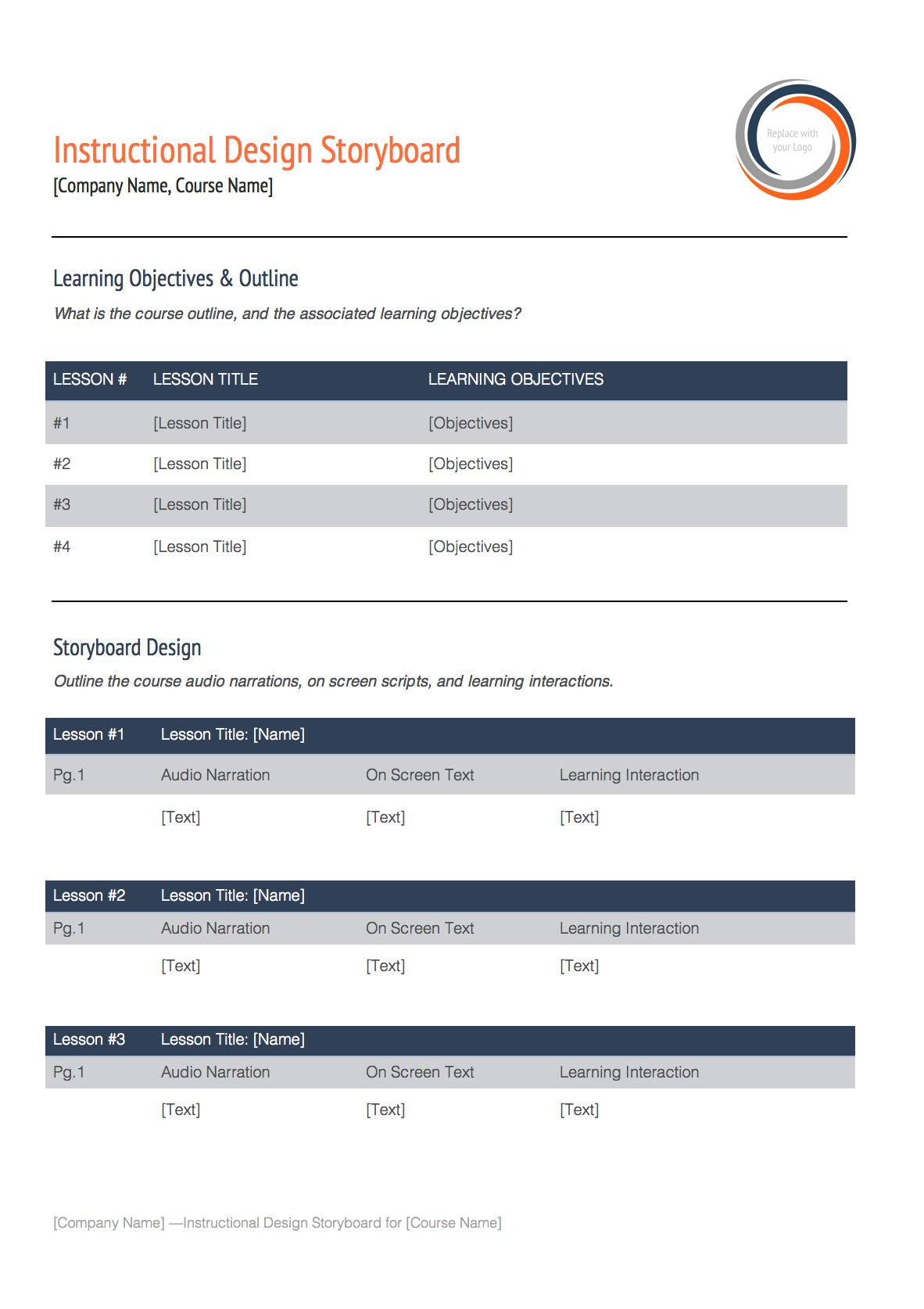 instructional design storyboard software