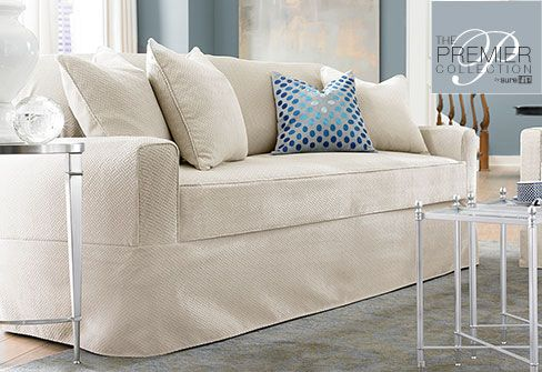 sure fit recliner slipcover instructions