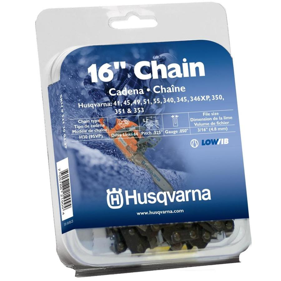 husqvarna chainsaw chain replacement instructions