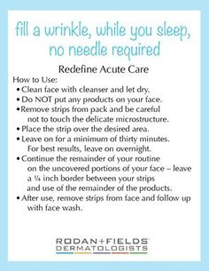 rodan and fields amp roller instructions