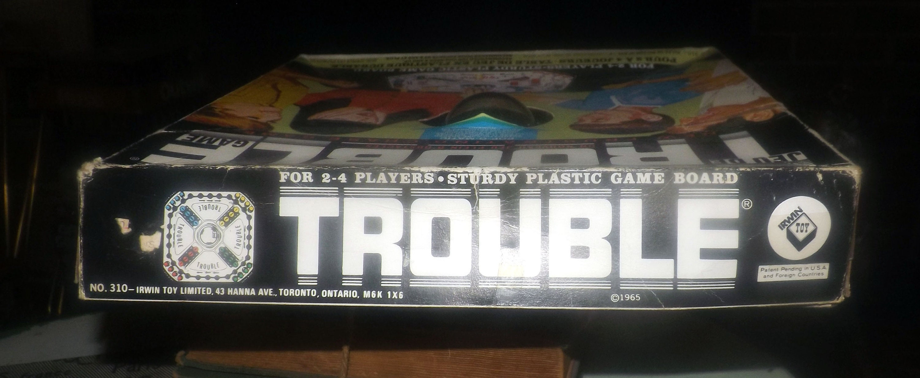 trouble board game rules instructions