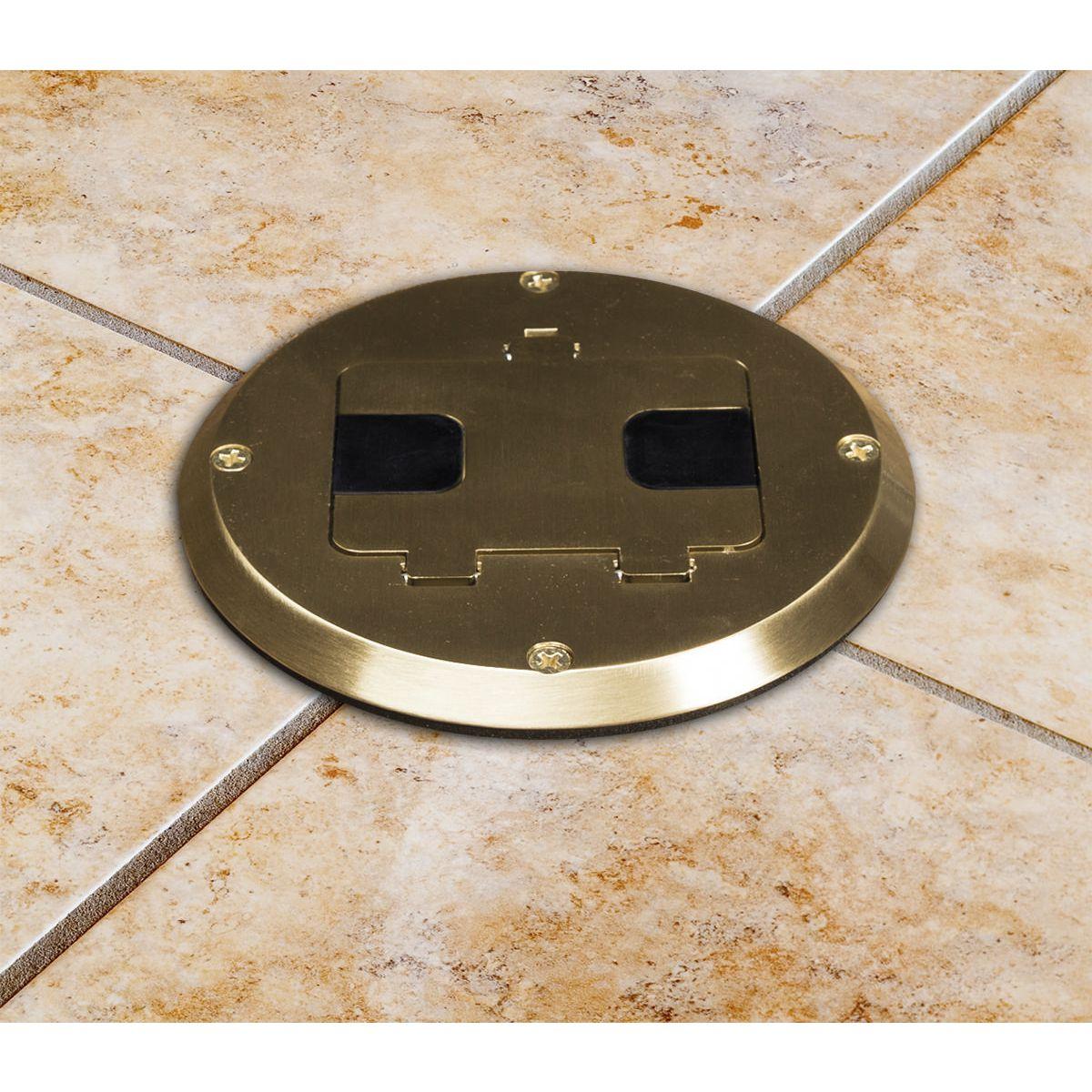 hubbell floor box installation instructions