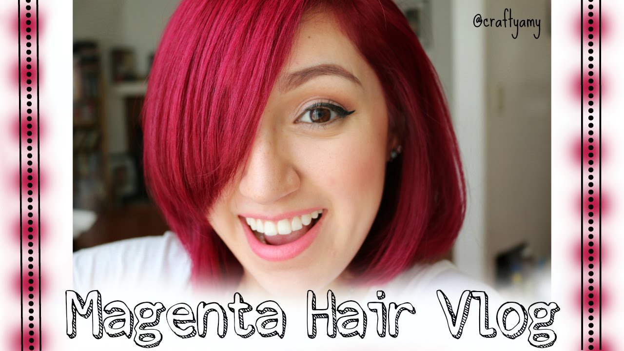 loreal majicontrast magenta red instructions