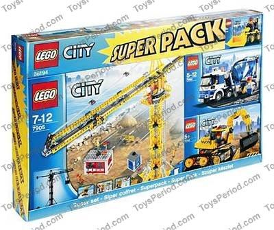 lego city 7942 instructions