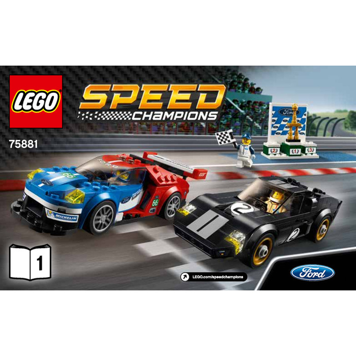 lego ford gt instructions