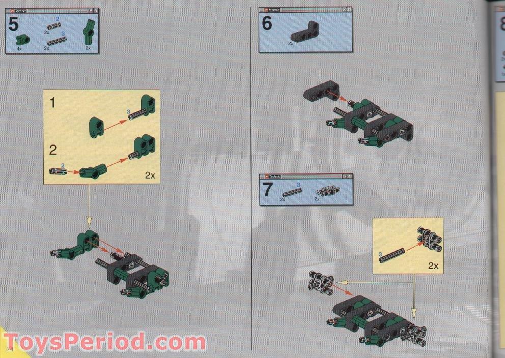 lego technic monster truck instructions