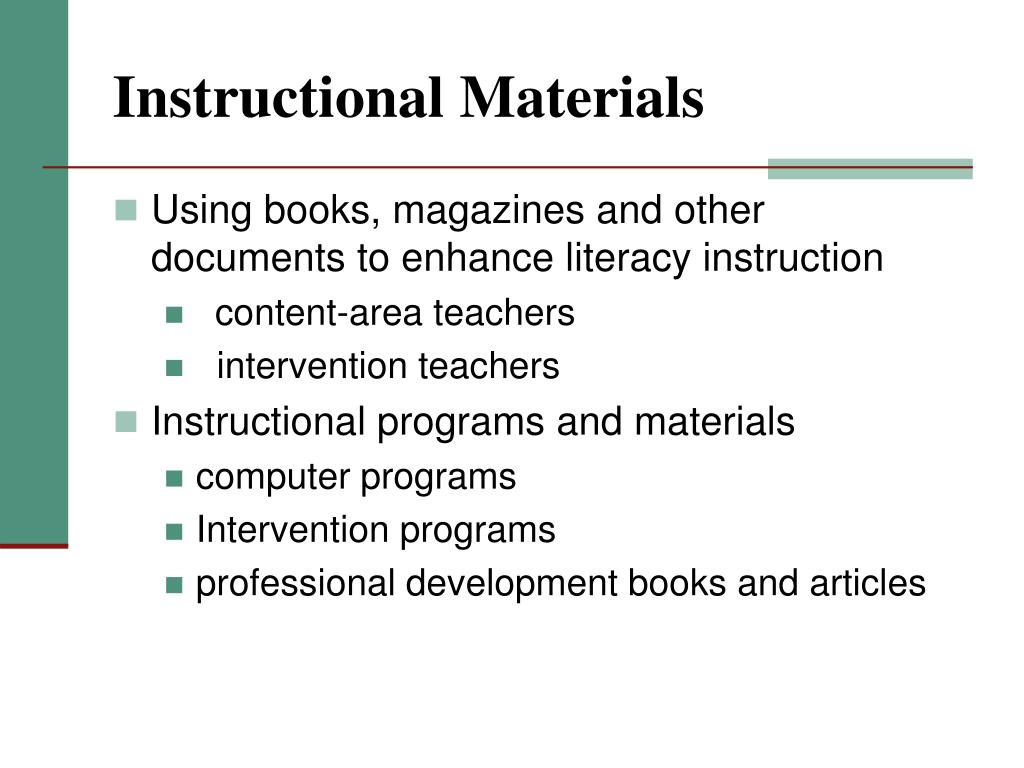 guide to effective literacy instruction