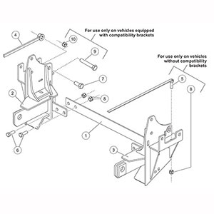 western snow plow mounting instructions