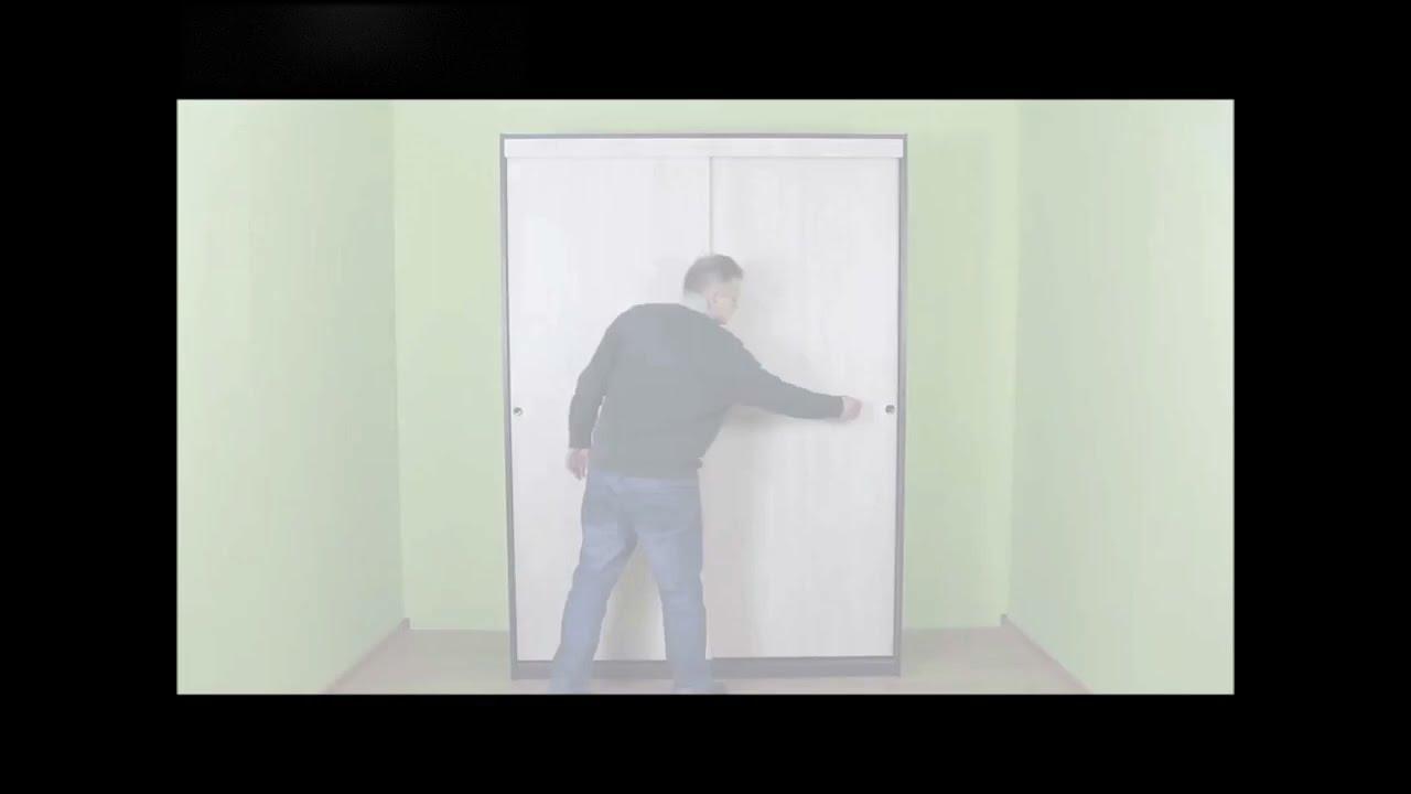 pax sliding door instructions