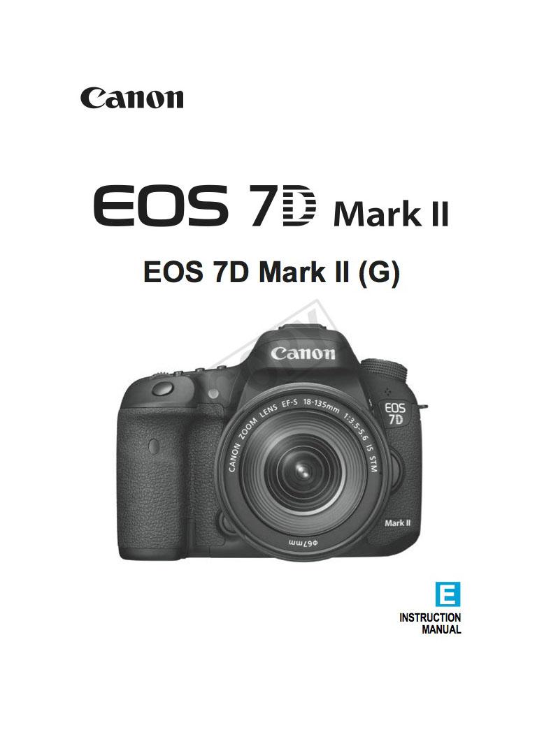 canon 7d instruction manual