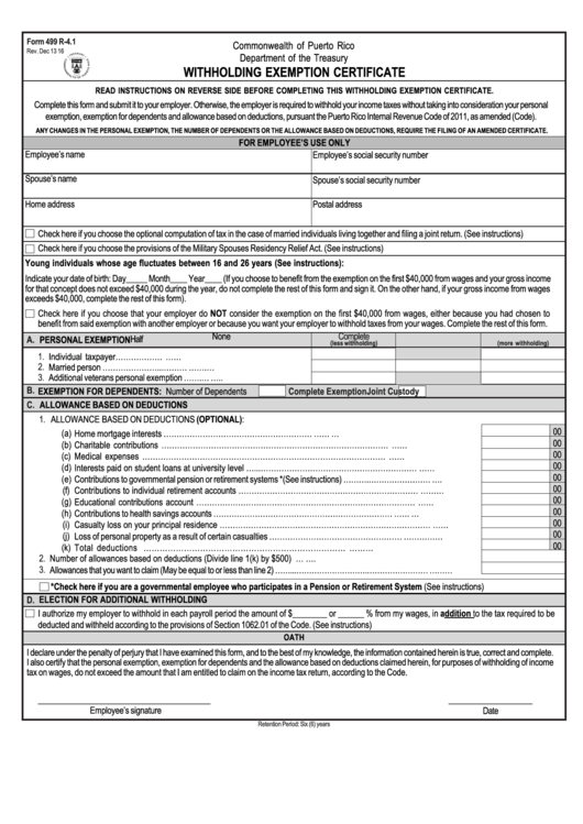 employer withholding instructions city of detroit income tax