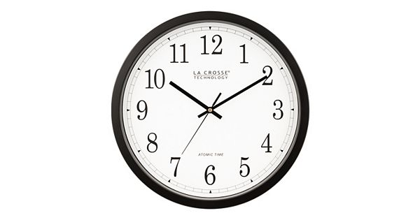 la crosse atomic wall clock instructions