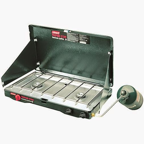 coleman 2 burner propane stove instructions