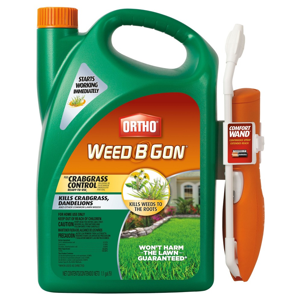 ortho weed b gon max plus crabgrass control concentrate instructions