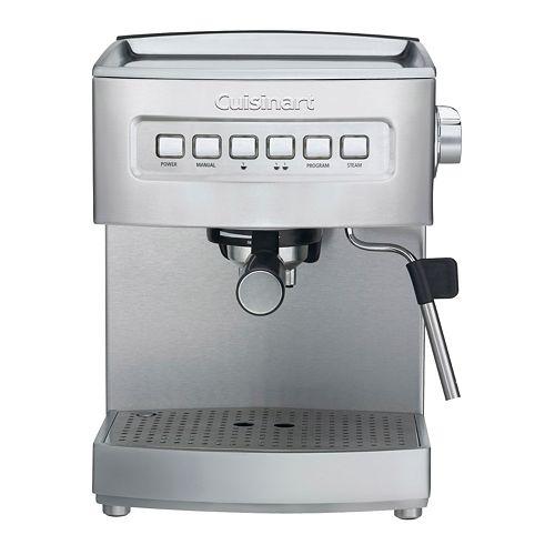 cuisinart espresso maker instructions