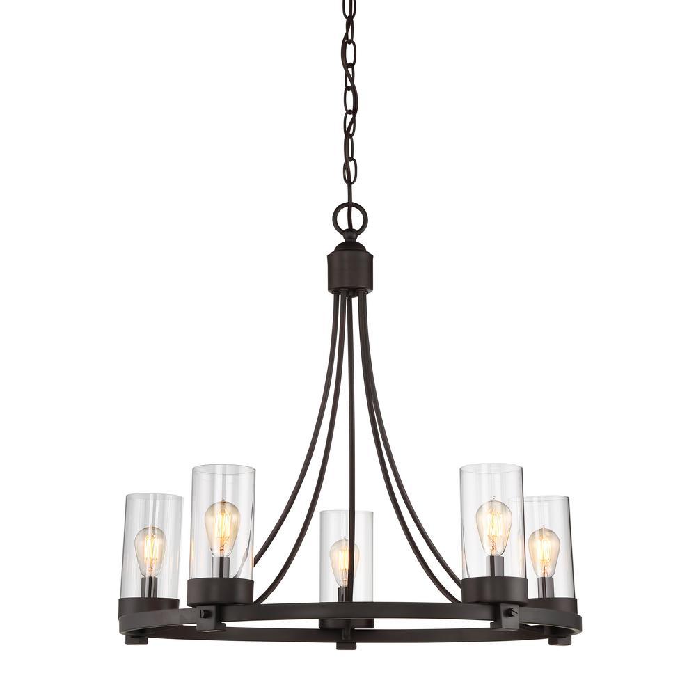 portfolio 5 light chandelier installation instructions