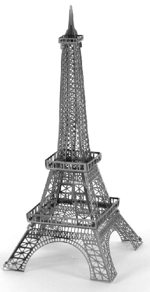 eiffel tower 3d puzzle instructions