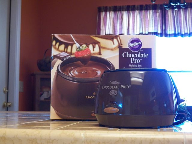 wilton chocolate pro melter instructions
