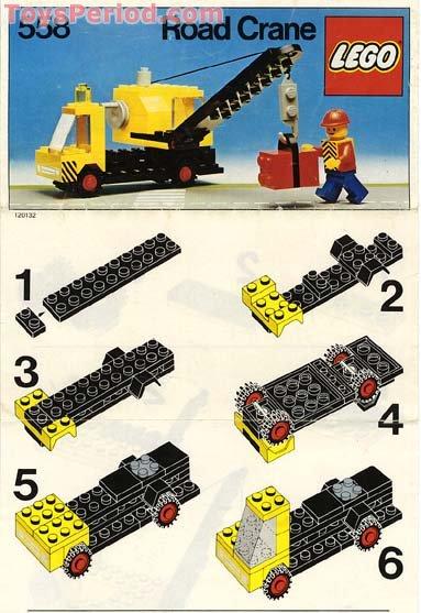 lego classic 10697 crane instructions