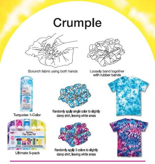 tie dye diamond pattern instructions