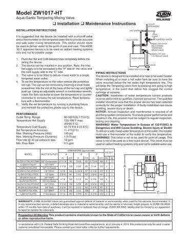 trap primer installation instructions