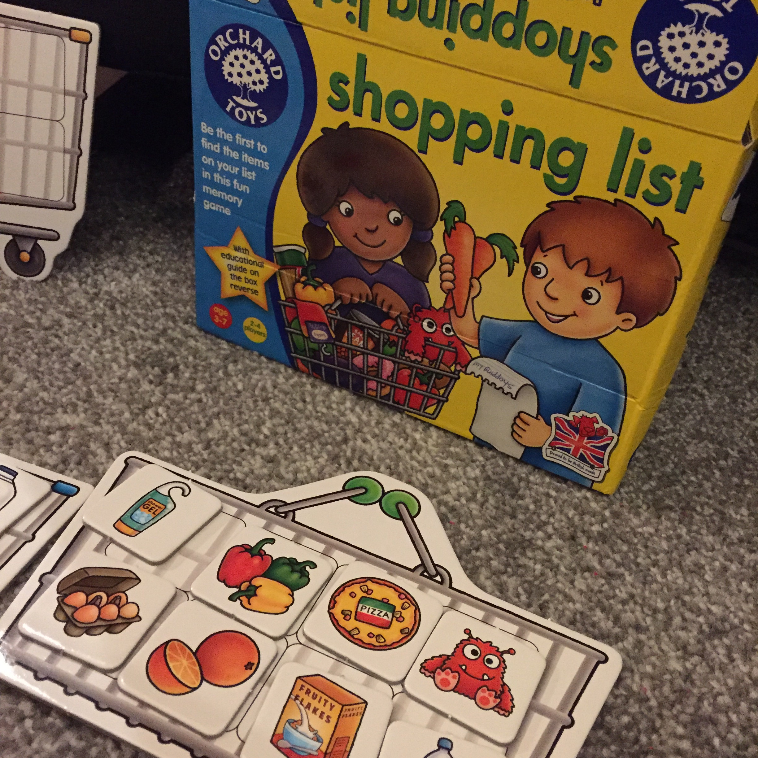 orchard toys games instructions