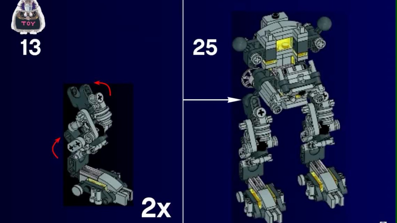 lego exo suit instructions