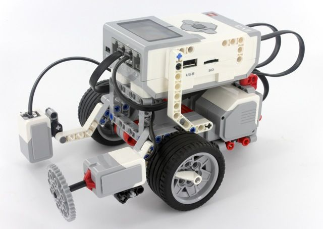 nxt robot building instructions