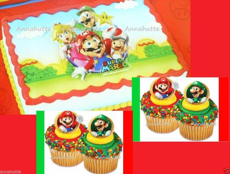 super mario cake pan instructions