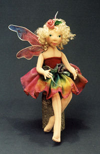flying fairy doll instructions